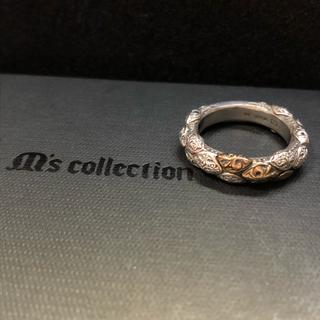 エムズコレクション(M's collection)のM's collection シルバー ×k5リング エムズ(リング(指輪))
