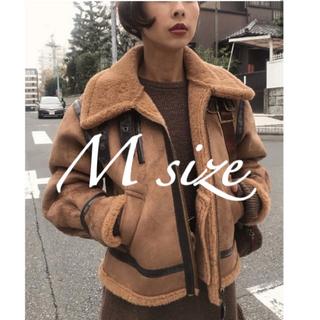 アメリヴィンテージ(Ameri VINTAGE)のameri vintage フライトジャケット(ムートンコート)