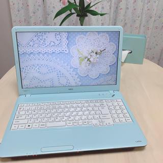 エヌイーシー(NEC)のノートパソコン NEC LaVie LS550/C(ノートPC)