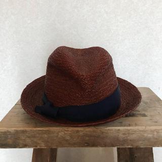 トゥモローランド(TOMORROWLAND)のLola hats ストローハット トゥモローランド購入(麦わら帽子/ストローハット)