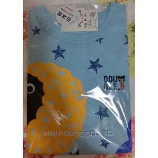 ダブルビー(DOUBLE.B)の新品ミキハウスダブルBDOUBLE.BTシャツスターアフロ120(Tシャツ/カットソー)
