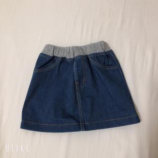 ムジルシリョウヒン(MUJI (無印良品))の無印良品 デニム スカート 80(スカート)