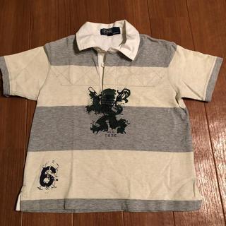 ラルフローレン(Ralph Lauren)の【最終値下げ】ポロ ラルフローレン♪ラガーシャツ/ポロシャツ100cm(Tシャツ/カットソー)