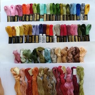 オリンパス(OLYMPUS)の刺繍糸 OLYMPUS★69本★set  オリムパス 25番 刺しゅう糸(生地/糸)