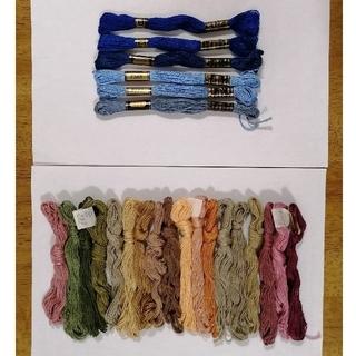 オリンパス(OLYMPUS)のうさくまさん専用 24本 刺繍糸(生地/糸)