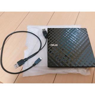 エイスース(ASUS)のASUS 外付け ポータブル DVDドライブ(PC周辺機器)