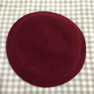 マジェスティックレゴン(MAJESTIC LEGON)のベレー帽 ワインレッド(ハンチング/ベレー帽)