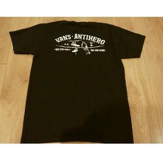アンチヒーロー(ANTIHERO)の値下げ! VANS ANTIHERO Tシャツ コラボ Mサイズ(Tシャツ/カットソー(半袖/袖なし))