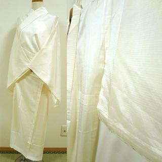 白の絽の長襦袢 夏用(着物)