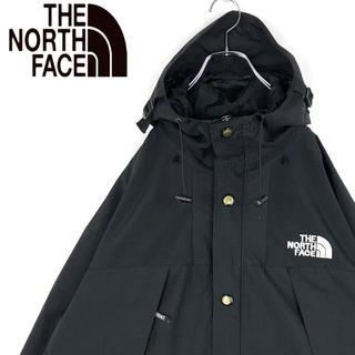 ザノースフェイス(THE NORTH FACE)のノースフェイス 刺繍胸ロゴ ゆるだぼ マウンテンパーカー ナイロン ブルゾン(マウンテンパーカー)