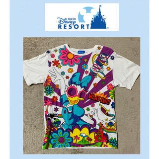 ディズニー(Disney)のTDRデイジーダック Tシャツ トップス(キャラクターグッズ)