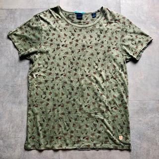 スコッチアンドソーダ(SCOTCH & SODA)のSCOTCH & SODA 総柄Tシャツ Mサイズ(Tシャツ/カットソー(半袖/袖なし))