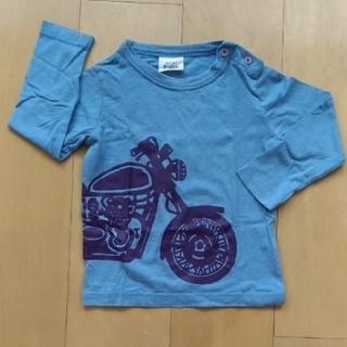コドモビームス(こどもビームス)のレアです✴ミニ ボーデン mini Boden バイク柄 長袖Tシャツ(Tシャツ/カットソー)