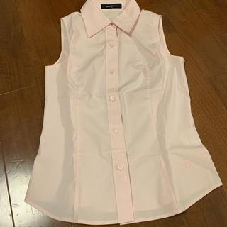 クイーンズコート(QUEENS COURT)のクイーンズコート 1 ブラウス 薄ピンク(シャツ/ブラウス(半袖/袖なし))