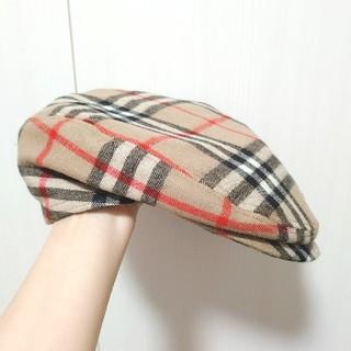 バーバリー(BURBERRY)のハンチング帽(ハンチング/ベレー帽)