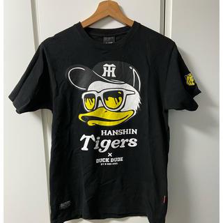 ハンシンタイガース(阪神タイガース)の阪神×DUCK DUDEコラボTシャツ(Tシャツ/カットソー(半袖/袖なし))