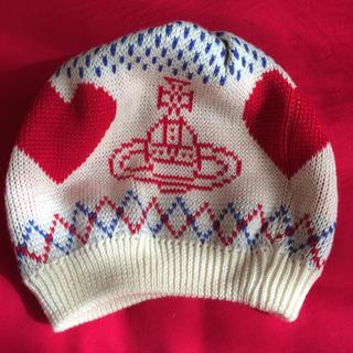 ヴィヴィアンウエストウッド(Vivienne Westwood)のタグ付 ヴィヴィアンウエストウッド 帽子(ニット帽/ビーニー)