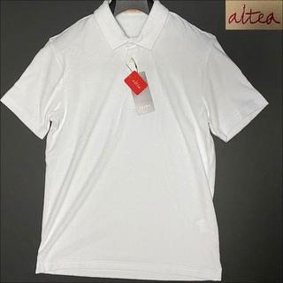 アルテア(ALTEA)のJ3108 新品 アルテア パイルポロシャツ ホワイト M altea(ポロシャツ)