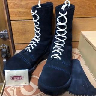ウエスコ(Wesco)のウエスコ  カスタムジョブマスター 81/2 ブラックラフアウト(ブーツ)
