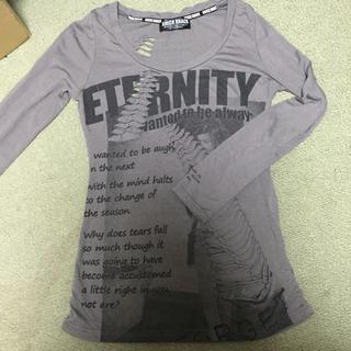 ◾️グレーのロンT(Tシャツ(長袖/七分))