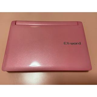 CASIO - CASIO 電子辞書 EX-word XD-4800 ピンク