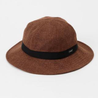 オーシバル(ORCIVAL)のオーシバル ORCIVAL オーチバル ラフィア ライクハット 帽子 ブラウン(ハット)