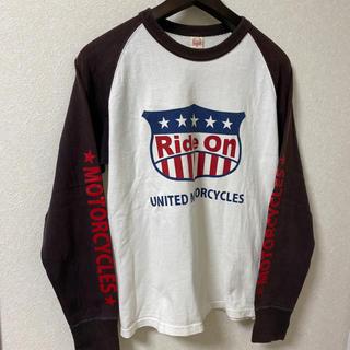 フラットヘッド(THE FLAT HEAD)のフラットヘッド カットソー  Tシャツ 38 Mサイズ(Tシャツ/カットソー(七分/長袖))