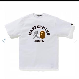 アベイシングエイプ(A BATHING APE)の BAPE VS Mastermind JAPAN TEE tシャツ(Tシャツ/カットソー(半袖/袖なし))