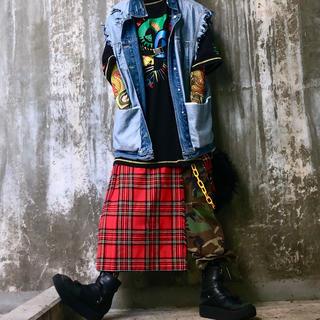 クージー(COOGI)のCOOGI クージー ビッグ プリント オーバーサイズ Tシャツ 古着 韓国系(Tシャツ/カットソー(半袖/袖なし))