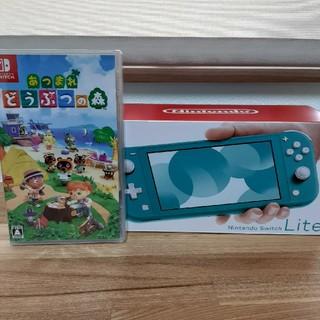 ニンテンドースイッチ(Nintendo Switch)のNintendo Switch  Lite  どうぶつの森 セット(家庭用ゲーム機本体)