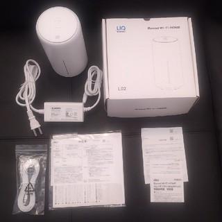 エーユー(au)のSpeed Wi-Fi HOME L02(その他)