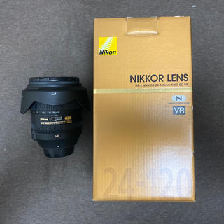 ニコン(Nikon)のNikon AF-S 24-120F4G ED VR 極美品(レンズ(ズーム))