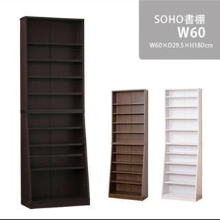 さやか様専用 大容量の薄型本棚 幅60cm(本収納)