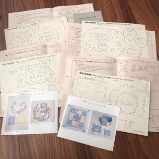 フェリシモ(FELISSIMO)のフェリシモ 型紙 作り方(型紙/パターン)