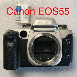 キヤノン(Canon)のCanon EOS55 シルバー フィルムカメラ(フィルムカメラ)