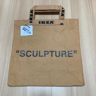 送料無料-Mサイズ IKEA x ヴァージル トートバッグ イケヤ(エコバッグ)