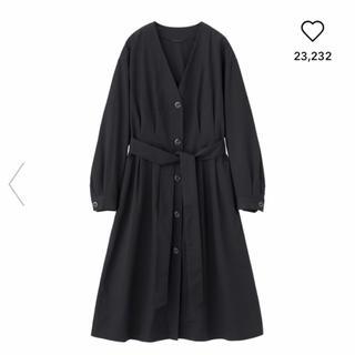 ジーユー(GU)のGU☆新品未使用☆ノーカラーコート(ロングコート)