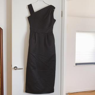 LagunaMoon - 新品 ラグナムーン ブラックアシメドレス