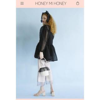 ハニーミーハニー(Honey mi Honey)のhoney mi honey ハニーミーハニー 新作 完売 ivory サンダル(サンダル)