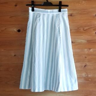 ダズリン(dazzlin)のダズリン ストライプ スカート(ひざ丈スカート)