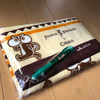 ジャーナルスタンダード(JOURNAL STANDARD)のちょリス journal  standard  バスタオル サザエさんボールペン(タオル/バス用品)