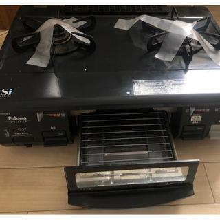パロマピカソ(Paloma Picasso)のパロマ LPガス ガスコンロ プロパン Siフラットトップ ic-n900b-r(調理機器)
