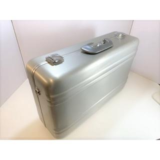 ゼロハリバートン(ZERO HALLIBURTON)の70s 状態良好 緑バッジ ゼロハリバートン アルミスーツケース #16853(トラベルバッグ/スーツケース)