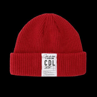 サンダイメジェイソウルブラザーズ(三代目 J Soul Brothers)の登坂広臣 CLAIR DE LUNE knit cap red(ニット帽/ビーニー)
