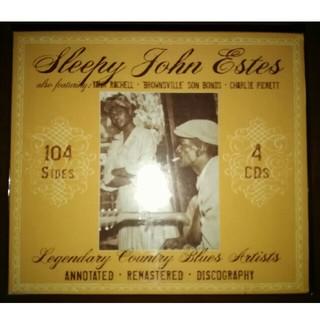 4CD Sleepy John Estes スリーピー・ジョン・エステス(ブルース)