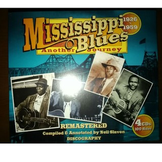 4CD Mississippi Blues Another Journey (ブルース)