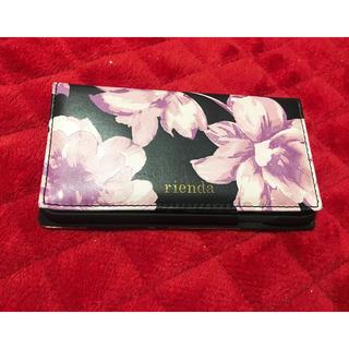 リエンダ(rienda)のmikko様専用 花柄iPhone6s対応カバー (iPhoneケース)