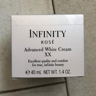 インフィニティ(Infinity)の【新品未開封か】KOSE インフィニティ アドバンスト ホワイトクリーム XX(フェイスクリーム)