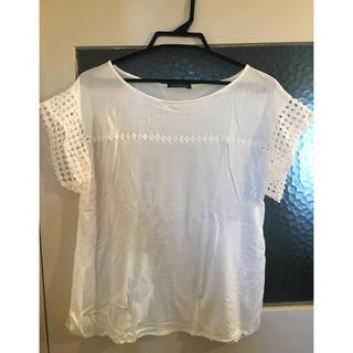 ミミアンドロジャー(mimi&roger)のmimi&roger白Tシャツ(Tシャツ(半袖/袖なし))