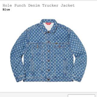 シュプリーム(Supreme)のHole Punch Denim Trucker Jacket (Gジャン/デニムジャケット)